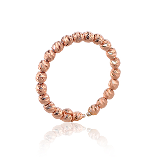 anillo oro rosa