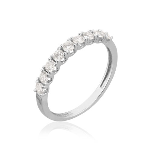 anillo pedida diamantes