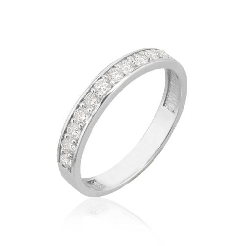 anillo pedida diamantes en carril