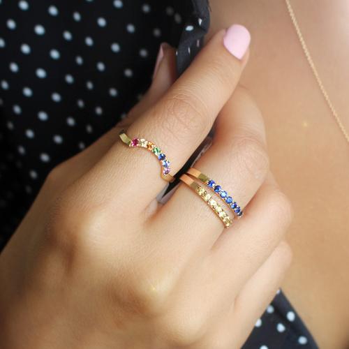 anillo oro zafiro amatista rubi