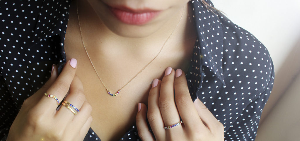 joyas de oro colección rainbow