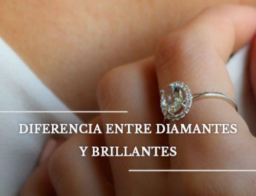 ¿Cuál es la diferencia entre diamante y brillante?