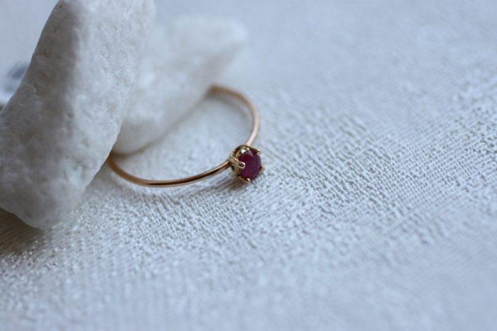 anillo rubi