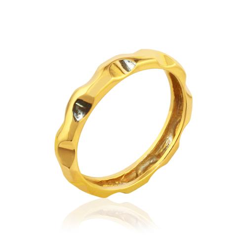 Alianza de boda original de oro