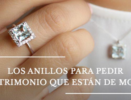 Los anillos para pedir matrimonio que están de moda