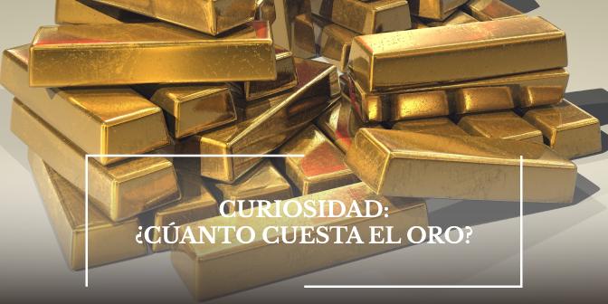 cuanto cuesta oro