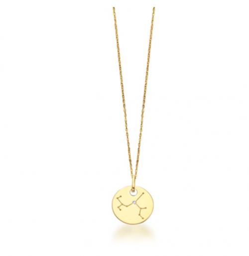 collar de oro constelación