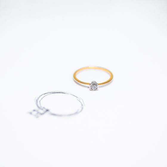 anillo pedida