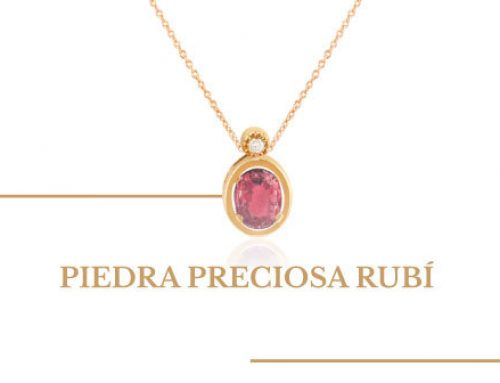 Piedra preciosa rubí, la joya del mes de julio